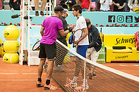 Croatian Borna Coric French Pierre-Hugues Herbert during Mutua Madrid Open Tennis 2017 at Caja Magica in Madrid, May 10, 2017. Spain.<br /> (ALTERPHOTOS/BorjaB.Hojas) /NortePhoto.com **NortePhoto.com