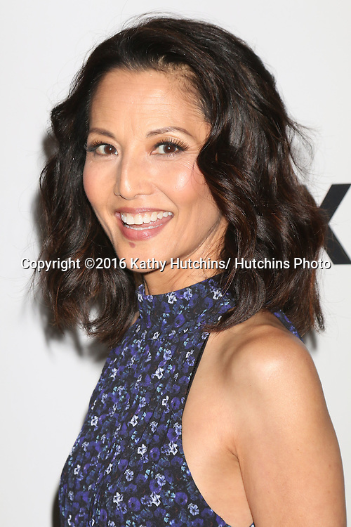 LOS ANGELES - JUL 30:  Tamlyn Tomita at the EPIX Television Critics Association Tour Photo Line at the Beverly Hilton Hotel on July 30, 2016 in Beverly Hills, CA
