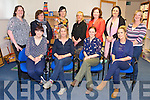The Kerry Branch of the Association of Childcare Professionals meeting at Kerry County Childcare Offices, Monavalley Industrial Estate on Monday. Guest speaker  Marian Quinn, chairperson of the National A.C.P. talked about raising  awareness of the value of the contribution Childcare professionals make to the lives of children, families & to society at large. Pictured  front l-r Lorraine O'Hanlon, Sharon Griffin, Chairperson, Dionne Comerford, Secretary, Jane Costello, Back from left, Marian Quinn, National Chairperson, Liz Coleman, Marguerite O'Sullivan, Trish Stewart, Betty Brosnan, Clodagh Moynihan and Kate Guerin