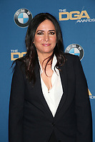 BEVERLY HILLS, CA - FEBRUARY 3: Pamela Adlon in the press room at the 70th Annual DGA Awards at The Beverly Hilton Hotel in Beverly Hills, California on February 3, 2018. <br /> CAP/MPI/FS<br /> &copy;FS/MPI/Capital Pictures