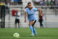 Piscataway, NJ - Wednesday Sept. 07, 2016: Taylor Lytle during a regular season National Women's Soccer League (NWSL) match between Sky Blue FC and the Orlando Pride FC at Yurcak Field.