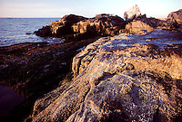 Pointed Maren's Rock on Smuttynose Island, Isles of Shoals, Maine. Photograph by Peter E. Randall