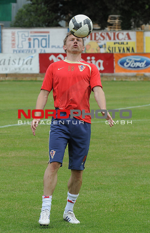 29.05..2009., Rovinj - First day of preparations croatian football national team. 06.06.2009. they are playing qualifying match with Ukraine for World Championship 2010. Ivica Olic. <br /> Photo: Anto Magzan/ / nph (  nordphoto  )