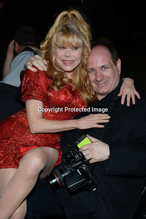 Charo & Steven Bergman attends the 42nd Annual Daytime Emmy Awards Press Room on April 26, 2015 at Warner Bros Studio in Burbank, California, USA