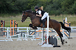Class 6. 75cm. Unaffiliated showjumping. Brook Farm Training Centre. Essex. 06/08/2017. MANDATORY Credit Garry Bowden/Sportinpictures - NO UNAUTHORISED USE - 07837 394578