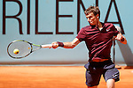 Andrey Kuznetsov, Russia, during Madrid Open Tennis 2016 match.May, 2, 2016.(ALTERPHOTOS/Acero)