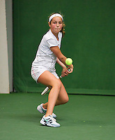 01-12-13,Netherlands, Almere,  National Tennis Center, Tennis, Winter Youth Circuit, Tess Menten <br /> Photo: Henk Koster