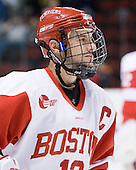 Chris Connolly (BU - 12) - The Boston University Terriers defeated the visiting Providence College Friars 2-1 on Saturday, October 23, 2010, at Agganis Arena in Boston, Massachusetts.