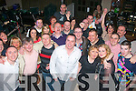 THE BIG FOUR 0: Chris Hannafin, Caherwisheen, Tralee (front centre) had a great night in Kirby's Brogue, Tralee celebrating his 40th birthday last Saturday surrounded by many family and friends.