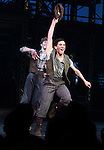 Jess LeProtto.during the 'NEWSIES' Opening Night Curtain Call at the Nederlander Theatre in New York on 3/29/2012
