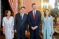 APR 20 Spanish Royals Host a Lunch For Literature World Members
