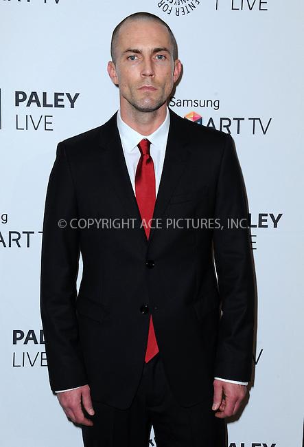 WWW.ACEPIXS.COM<br /> <br /> September 12 2013, LA<br /> <br /> Desmond Harrington at PaleyFest Previews: 'Dexter' at The Paley Center for Media on September 12, 2013 in Beverly Hills, California.<br /> <br /> By Line: Peter West/ACE Pictures<br /> <br /> <br /> ACE Pictures, Inc.<br /> tel: 646 769 0430<br /> Email: info@acepixs.com<br /> www.acepixs.com