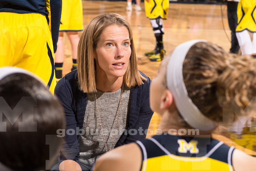 The University of Michigan women's basketball team loses to Princeton, 85-55, at Crisler Arena in Ann Arbor on Dec. 9, 2014.