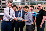 Pass the Rugby Ball ceremony