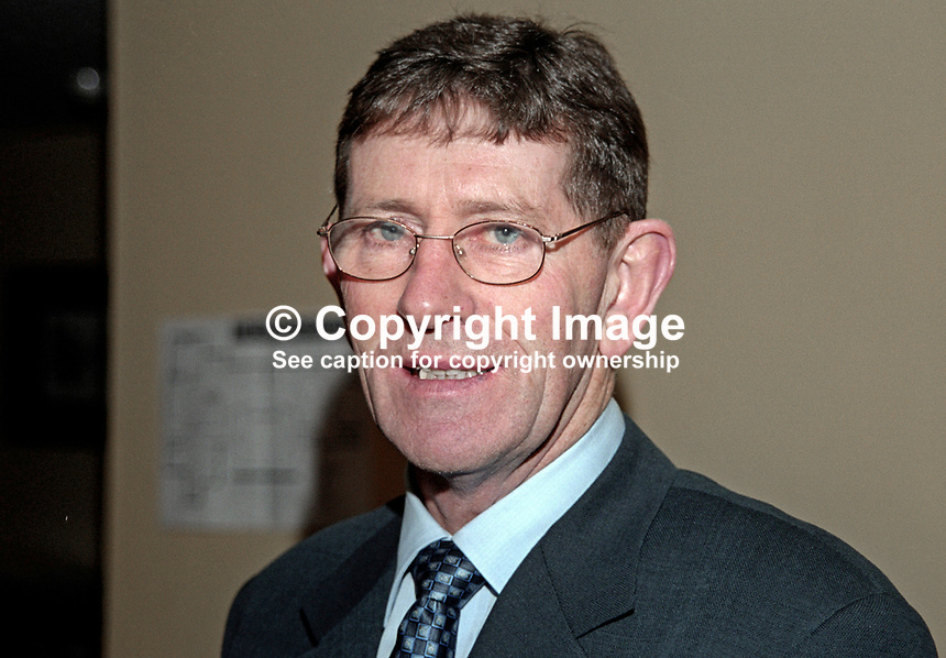 Tommy Gallagher, MLA, Member of Legislative Assembly, SDLP, Fermanagh &amp; South Tyrone, N Ireland, 199911063<br />