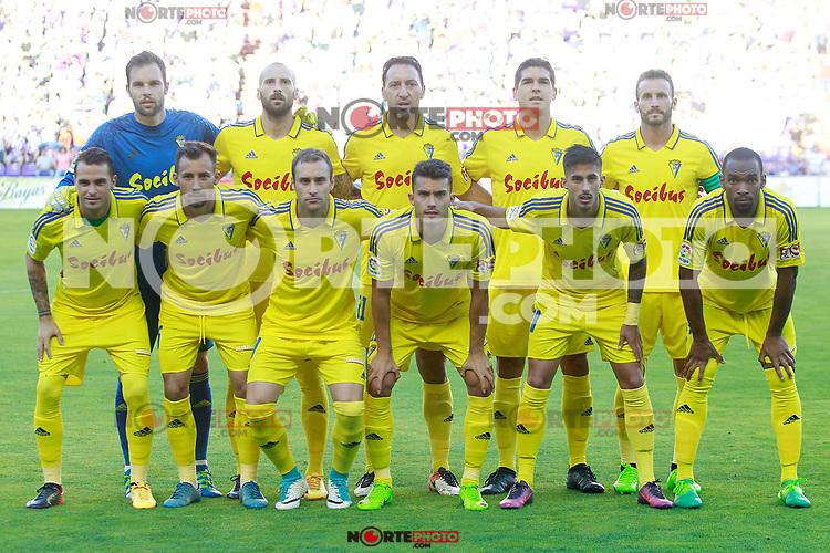 Cadiz CF's team photo during La Liga Second Division match. June 10,2017. (ALTERPHOTOS/Acero) (NortePhoto.com) (NortePhoto.com)