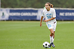 05 November 2008: North Carolina's Tobin Heath. The University of North Carolina defeated the University of Miami 1-0 at Koka Booth Stadium at WakeMed Soccer Park in Cary, NC in a women's ACC tournament quarterfinal game.