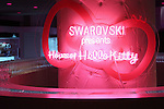 """June 29, 2011.Swarovski and Hello Kitty collaboration jewelry line - Swarovski presents """"House of Hello Kitty"""" makes a debut at Omotesando Hills in Tokyo, Japan. This is also a charity event to help the Earthquake victims of Japan."""