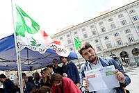 Roma, 30 Aprile 2017<br /> Gazebo in Piazza dei Cinquecento<br /> Voto Primarie Partito Democratico