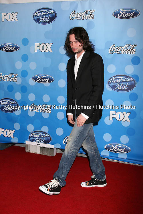 Constantine Maroulis.American Idol Top 12 Party.Season 7.Wolfgang Puck - Pacific Design Center.Los Angeles, CA.March 6, 2008.©2008 Kathy Hutchins / Hutchins Photo....                .