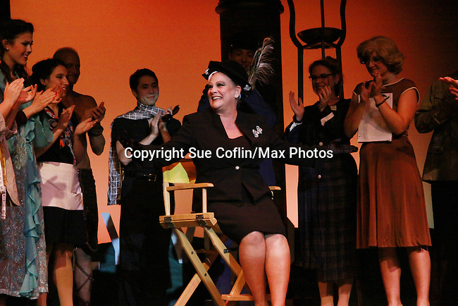 """One Life To Live and Guiding Light Kim Zimmer stars as """"Norma Desmond"""" in Sunset Boulevard for several weeks in August at the Barn Theatre in Augusta, Michigan. The photos are from the dress rehearsal. (Photo by Sue Coflin/Max Photos)"""