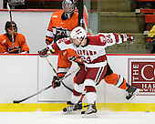 Cam MacIntyre (Princeton - 27), Luke Greiner (Harvard - 24) - The Princeton University Tigers defeated the Harvard University Crimson 2-1 on Friday, January 29, 2010, at Bright Hockey Center in Cambridge, Massachusetts.