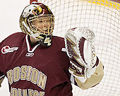 Cory Schneider - The Boston University Terriers defeated the Boston College Eagles 2-1 in overtime in the March 18, 2006 Hockey East Final at the TD Banknorth Garden in Boston, MA.