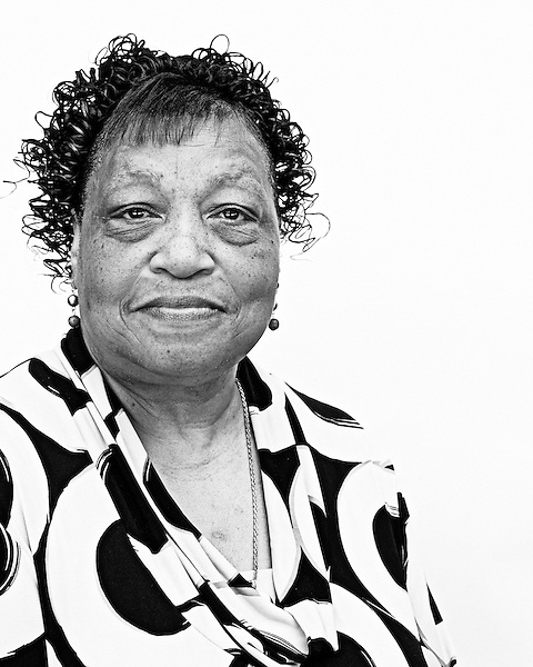 May 19, 2010. Chapel Hill, North Carolina.. Portraits of the people who are involved in Greenbridge Development story.. Belinda Caldwell works at the food program at St. Joseph's and has lived in Northside for 40 years.