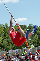 Crystal City junior Samuel Foster competes in the Class 1 pole vault at the Missouri Class 1 and 2 State Track and Field Championships in Jefferson City, Saturday, May 21. Foster cleared 111-6 and placed ninth.