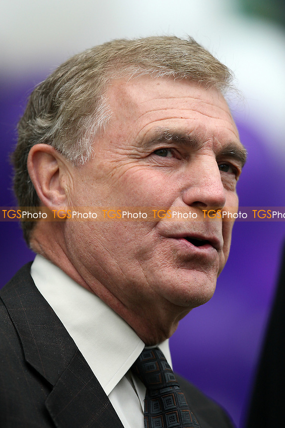 Sir Trevor Brooking of the FA is interviewed before the game - Chelsea Ladies vs Arsenal Ladies - FA Women's Super League Football at Tooting & Mitcham United FC - 13/04/11 - MANDATORY CREDIT: Gavin Ellis/TGSPHOTO - Self billing applies where appropriate - Tel: 0845 094 6026
