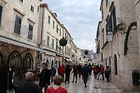 Altstadt von Dubrovnik - 25.11.2017: Dubrovnik mit der Costa Deliziosa