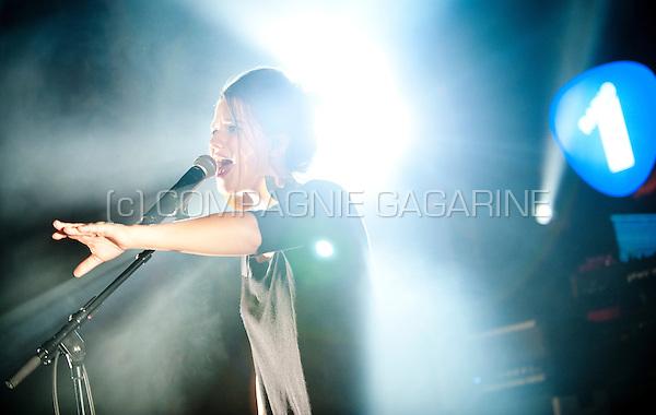 Belgian singer-songwriter Selah Sue performing at the Radio 1 Sessies, in Antwerp (Belgium, 18/11/2015)