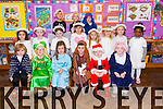 Junior Infants front l-r Ronan Harrington O'Callaghan, Andrew O'Connor, Nicole O'Connell Healy, Joseph O'Connor, Cathal Carr, Eoin Dwane. Middle l-r Gia Sharma, Haley Ann O'Brien, Kelly O'Sllivan, Jessica Muntean, Guste Sergiejella, Scarlote Babarskaite, Candy Fitzgerald, Chiom Roberts, Back l-r Jemal Shah, Brian Kula, Aaron Guerin getting ready for their Christmas concert at Moyderwell Mercy Primary School on Friday
