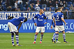 16.03.2019, VELTINS-Arena, Gelsenkirchen, GER, DFL, 1. BL, FC Schalke 04 vs RB Leipzig, DFL regulations prohibit any use of photographs as image sequences and/or quasi-video<br /> <br /> im Bild unzufrieden / enttaeuscht / niedergeschlagen / frustrierte Schalker nach dem Schlusspfiff<br /> <br /> Foto © nph/Mauelshagen
