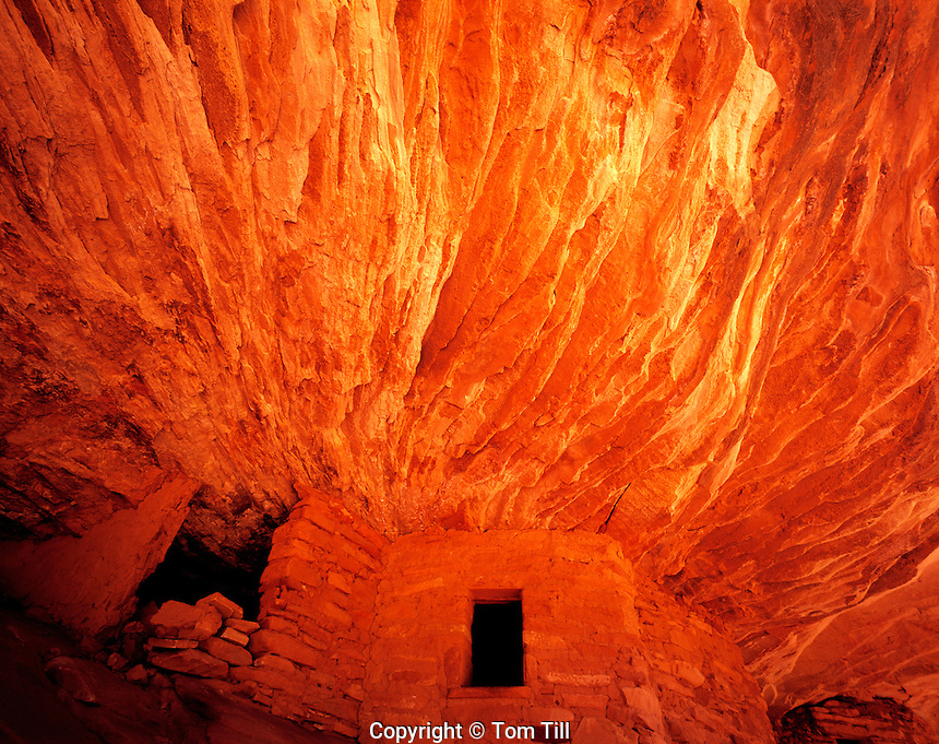 Run & Red Ceiling, BLM Wilderness Study Area, Utah  Ancient Ancestral Puebloan  ruin