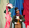 Hip Hop v Ballet <br /> Two Mad Hatters in a Dance off at the Royal Opera House <br /> <br /> Steven McRae from the Royal Ballet <br /> <br /> in a dance off with <br /> <br /> Turbo from Zoo Nation <br /> <br /> at the Clore Studio, Royal Opera House, Covent Garden, London, Great Britain <br /> <br /> <br /> to promote a brand new show The Mad Hatter's Tea Party. <br /> <br /> <br /> 12th November 2013 <br /> <br /> Photograph by Elliott Franks <br /> Image licensed to Elliott Franks Photography Services