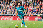 Marcelo Vieira Da Silva of Real Madrid in action during the La Liga 2017-18 match between Valencia CF and Real Madrid at Estadio de Mestalla  on 27 January 2018 in Valencia, Spain. Photo by Maria Jose Segovia Carmona / Power Sport Images
