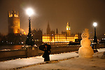 London Winter Snow