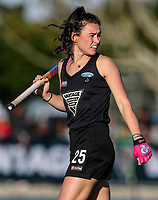 Kelsey Smith of the Blacksticks during the international hockey match between the Blacksticks Women and India, Rosa Birch Park, Pukekohe, New Zealand. Sunday 14  May 2017. Photo:Simon Watts / www.bwmedia.co.nz