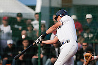 10 october 2009: Steven Huff of Savigny is seen at bat during game 3 of the 2009 French Elite Finals won 4-2 by Savigny over Rouen, at Stade Jean Moulin stadium in Savigny sur Orge, near Paris, France.