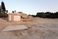 Pictured: The farmhouse site where Ben Needham disappeared from in Kos, Greece. <br />Re: The search for missing Ben Needham led by South Yorkshire Police has concluded on the Greek island of Kos.<br />Ben, from Sheffield, was 21 months old when he disappeared on 24 July 1991 during a family holiday.<br />Digging took place around the farmhouse where Ben Needham was last seen and at a new site after a fresh line of inquiry suggested he could have been crushed by a digger.