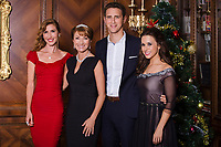 A Royal Christmas (2014)<br /> Promo shot of Lacey Chabert, Jane Seymour, Katherine Flynn &amp; Stephen Hagan<br /> *Filmstill - Editorial Use Only*<br /> CAP/KFS<br /> Image supplied by Capital Pictures