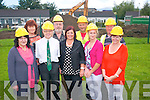 Work has begun on a new amenity park in Killorglin this week and is hoped to be completed by October. <br /> Front L-R Kathleen Bailey (secretary of Killorglin FRC committee), Paddy O'Donoghue (chairman), Margaret Wrenn (manager of Killorglin FRC), Eileen Quirke (childcare manager) and Kathleen Morris (family support worker) <br /> Back L-R Margaret Mangan (adminstrator), Jack O'Sullivan (building committee), Paddy Hillard (Conhill Construction) and Anthony O'Sullivan (treasurer of Killorglin FRC).