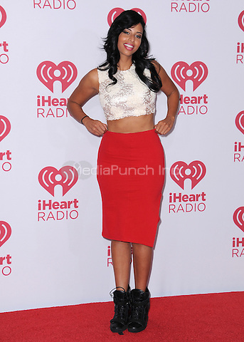 LAS VEGAS, NV - SEPTEMBER 19:  Nessa at the 2014 iHeartRadio Music Festival at the MGM Grand Garden Arena on September 19, 2014 in Las Vegas, Nevada. PGSK/MediaPunch