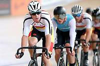Tom Sexton of Southland  leads out front in the  Elite Men Omnium 1, Scratch race 10km at the Age Group Track National Championships, Avantidrome, Home of Cycling, Cambridge, New Zealand, Saturday, March 18, 2017. Mandatory Credit: © Dianne Manson/CyclingNZ  **NO ARCHIVING**