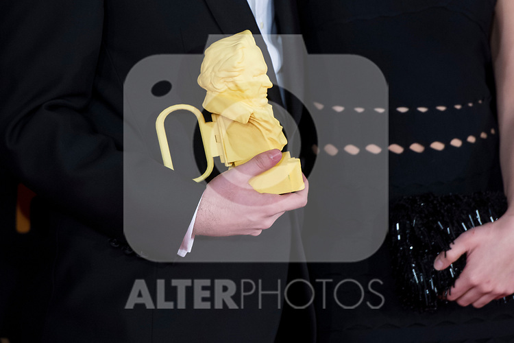 Detail attends red carpet of Goya Cinema Awards 2018 at Madrid Marriott Auditorium in Madrid , Spain. February 03, 2018. (ALTERPHOTOS/Borja B.Hojas)