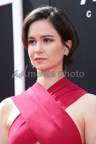 17 May 2017 - Hollywood, California - Katherine Waterston. Sir Ridley Scott Hand And Footprint Ceremony. Photo Credit: AdMedia