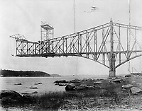 Quebec bridge , 1907