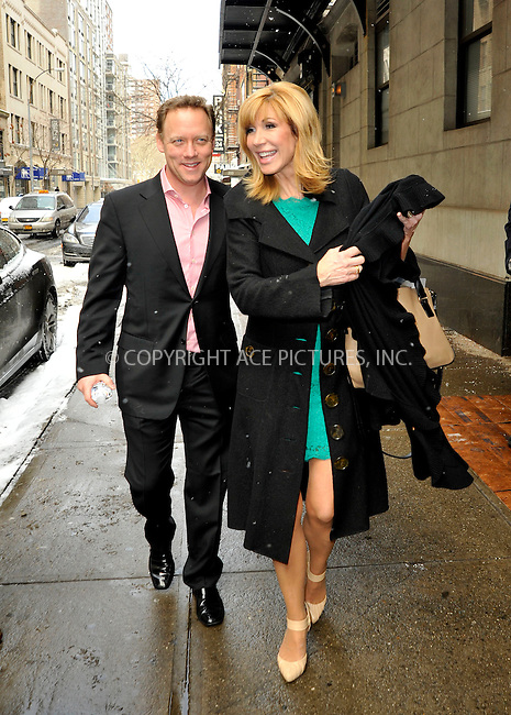 WWW.ACEPIXS.COM<br /> <br /> February 17 2015, New York City<br /> <br /> Celebrity Apprentice Season 7 winner Leeza Gibbons and her husband Steven Fenton made an appearance at'The Wendy Willimas Show' on February 17 2015 in New York City<br /> <br /> By Line: Curtis Means/ACE Pictures<br /> <br /> <br /> ACE Pictures, Inc.<br /> tel: 646 769 0430<br /> Email: info@acepixs.com<br /> www.acepixs.com