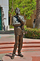 Jack Benny, Performer, Academy of Television Arts & Sciences, Celebrity, Bronze, Sculptures, Sculptural Works, Public Art, Display, North Hollywood, CA